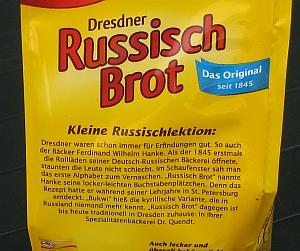 Russisch-Brot von Dr. Quendt: Russischlektion