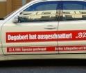 B.Z. Schlagzeilen-Taxi – Dagobert hat ausgeschnattert