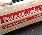 B.Z. Schlagzeilen-Taxi – Wachs-Hitler geköpft