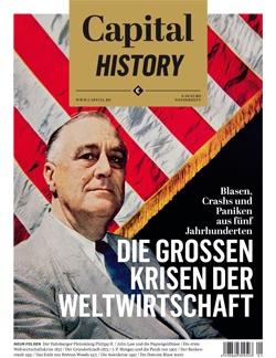 Capital History: Krisen der Weltwirtschaft (Cover der ersten Ausgabe)
