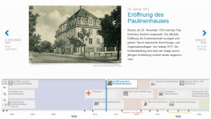 Screenshot Webchronik Paulinenkrankenhaus