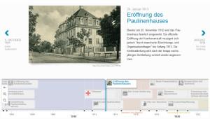 Screenshot Webchronik Paulinenkrankenhaus