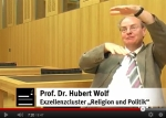 Screenshot Prof. Dr. Hubert Wolf