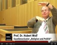 Screenshot Prof. Dr. Hubert Wolf