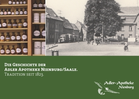 Cover Chronik Adler-Apotheke Nienburg